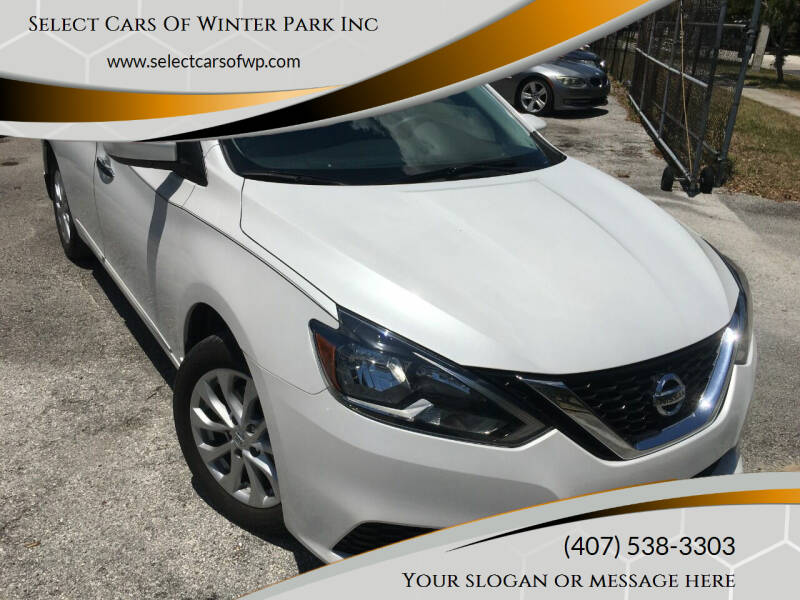 2018 Nissan Sentra for sale at Select Cars Of Winter Park Inc in Orlando FL