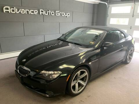 2008 BMW 6 Series for sale at Advance Auto Group, LLC in Chichester NH