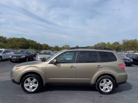 2009 Subaru Forester for sale at CARS PLUS CREDIT in Independence MO