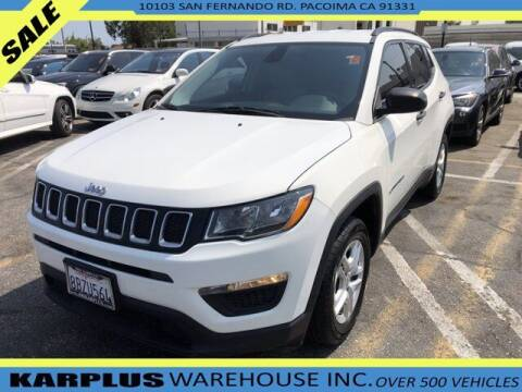 2018 Jeep Compass for sale at Karplus Warehouse in Pacoima CA