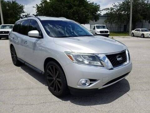 2015 Nissan Pathfinder for sale at Hickory Used Car Superstore in Hickory NC