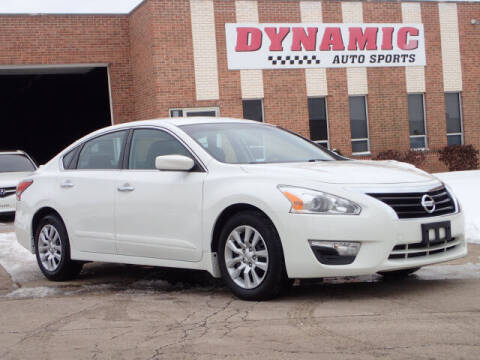 2015 Nissan Altima for sale at DYNAMIC AUTO SPORTS in Addison IL