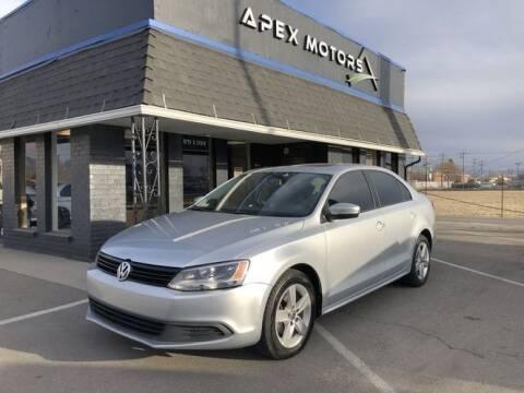 2012 Volkswagen Jetta for sale at Apex Motors in Murray UT