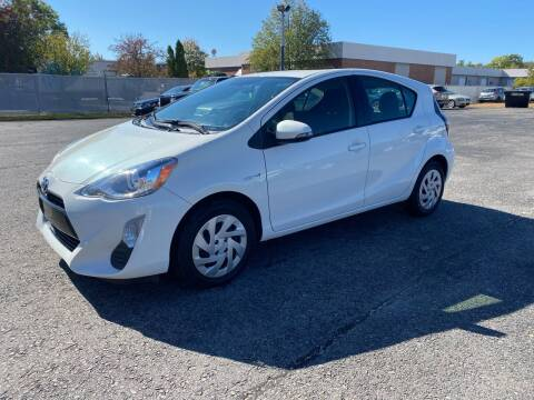 2016 Toyota Prius c for sale at Riverside Auto Sales & Service in Portland ME