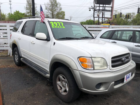 2001 Toyota Sequoia for sale at Klein on Vine in Cincinnati OH