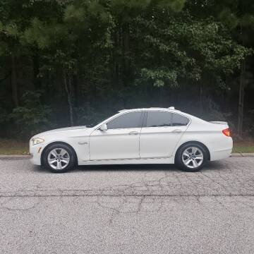 2013 BMW 5 Series for sale at MATRIXX AUTO GROUP in Union City GA