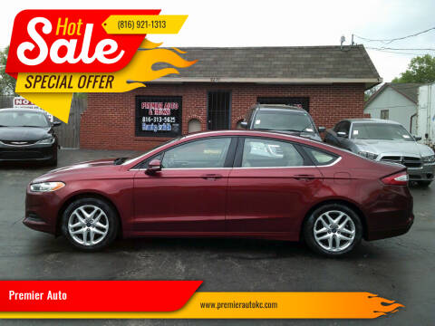 2014 Ford Fusion for sale at Premier Auto in Independence MO