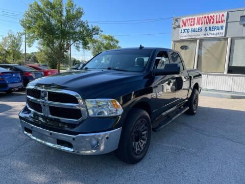 2016 RAM Ram Pickup 1500 for sale at United Motors LLC in Saint Francis WI