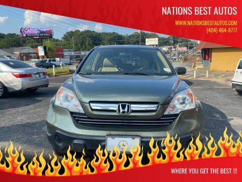 2007 Honda CR-V for sale at Nations Best Autos in Decatur GA