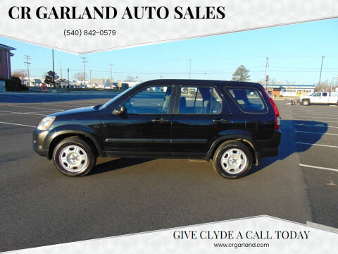 2006 Honda CR-V for sale at CR Garland Auto Sales in Fredericksburg VA