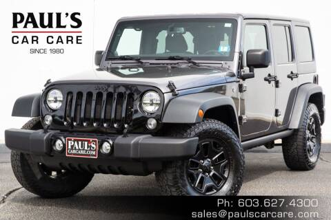 2014 Jeep Wrangler Unlimited for sale at Paul's Car Care in Manchester NH