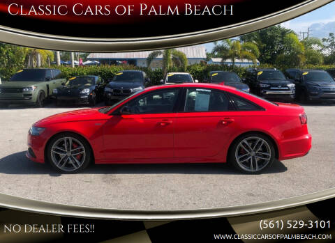2018 Audi A6 for sale at Classic Cars of Palm Beach in Jupiter FL