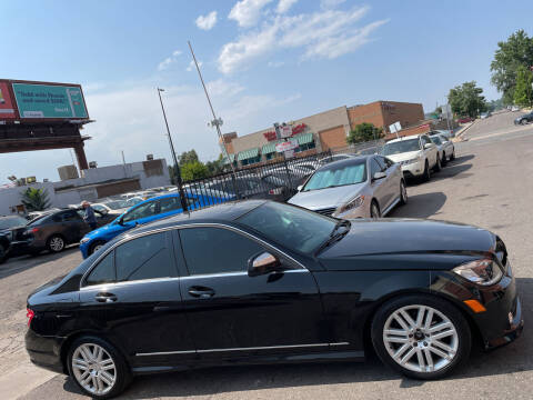 2009 Mercedes-Benz C-Class for sale at Sanaa Auto Sales LLC in Denver CO
