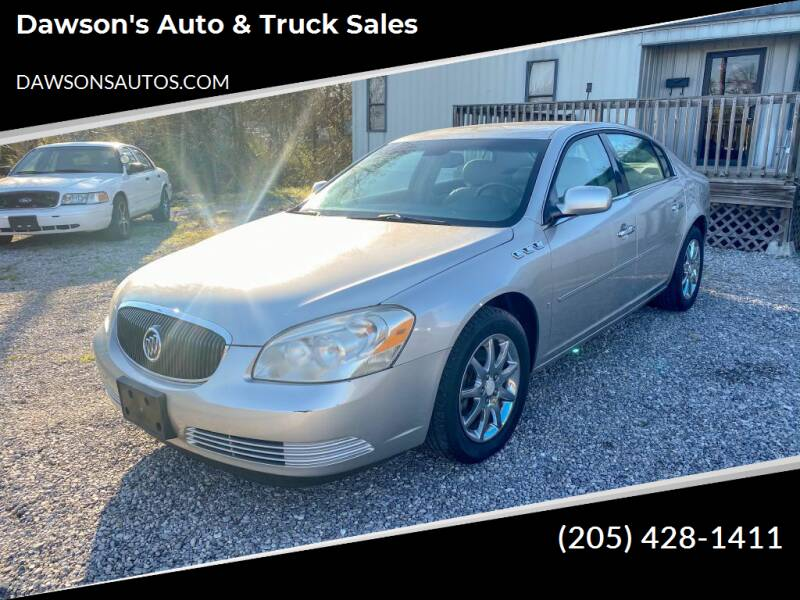 2007 Buick Lucerne for sale at Dawson's Auto & Truck Sales in Bessemer AL