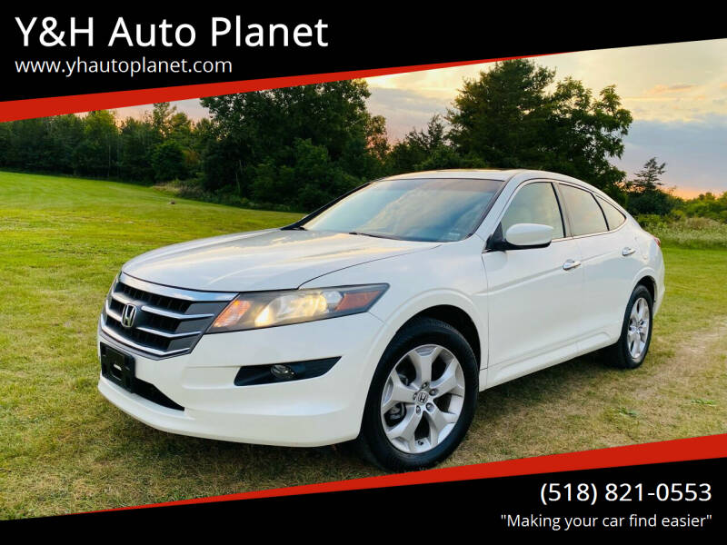 2010 Honda Accord Crosstour for sale at Y&H Auto Planet in West Sand Lake NY