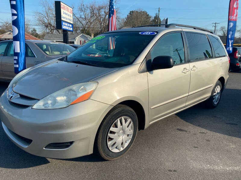 2008 Toyota Sienna for sale at Cars for Less in Phenix City AL