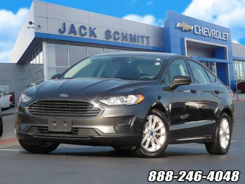 2020 Ford Fusion for sale at Jack Schmitt Chevrolet Wood River in Wood River IL