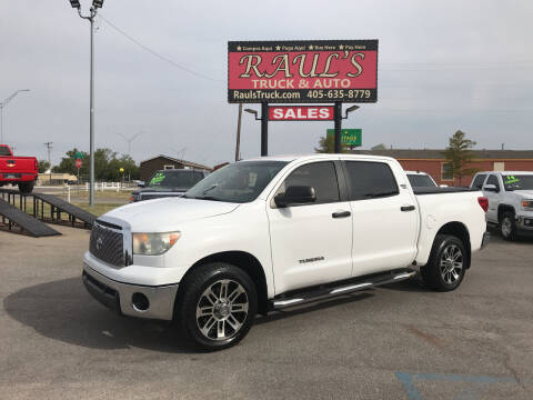2013 Toyota Tundra for sale at RAUL'S TRUCK & AUTO SALES, INC in Oklahoma City OK