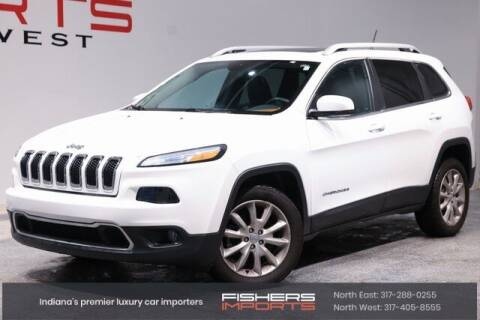 2014 Jeep Cherokee for sale at Fishers Imports in Fishers IN