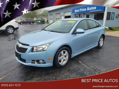 2012 Chevrolet Cruze for sale at Best Price Autos in Two Rivers WI