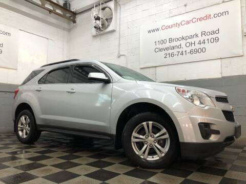 2013 Chevrolet Equinox for sale at County Car Credit in Cleveland OH