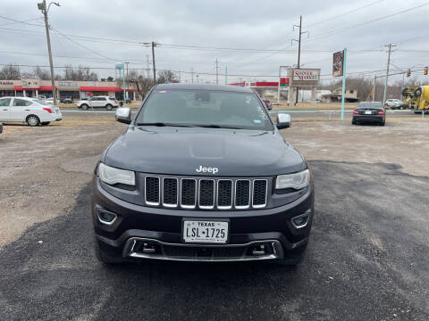 2014 Jeep Grand Cherokee for sale at 733 Cars in Oklahoma City OK