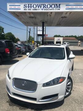 2012 Jaguar XF for sale at Showroom Auto Sales of Charleston in Charleston SC