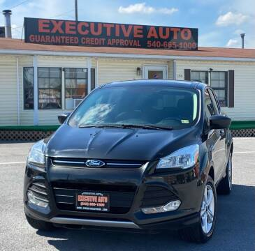 2015 Ford Escape for sale at Executive Auto in Winchester VA
