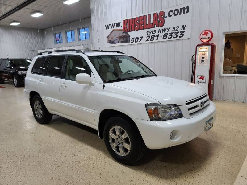 2005 Toyota Highlander for sale at Kinsellas Auto Sales in Rochester MN
