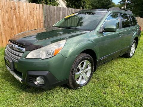 2014 Subaru Outback for sale at ALL Motor Cars LTD in Tillson NY
