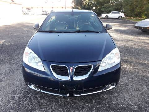 2008 Pontiac G6 for sale at Discount Auto World in Morris IL