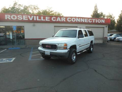 2001 GMC Yukon XL for sale at ROSEVILLE CAR CONNECTION in Roseville CA