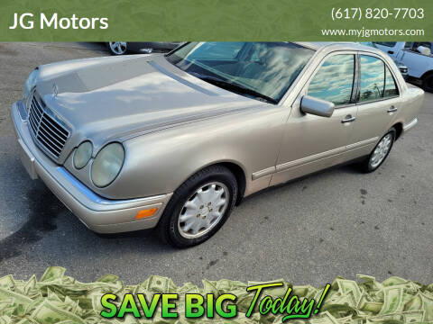 1999 Mercedes-Benz E-Class for sale at JG Motors in Worcester MA