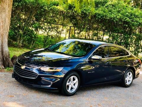 2017 Chevrolet Malibu for sale at Sunshine Auto Sales in Oakland Park FL