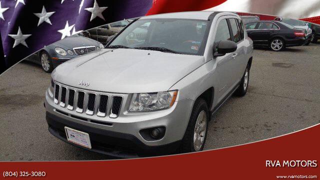 2013 Jeep Compass for sale at RVA MOTORS in Richmond VA