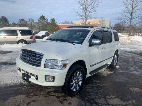 2008 Infiniti QX56 for sale at Townline Motors in Cortland NY