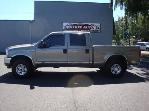 2003 Ford F-250 Super Duty for sale at Motion Autos in Longview WA