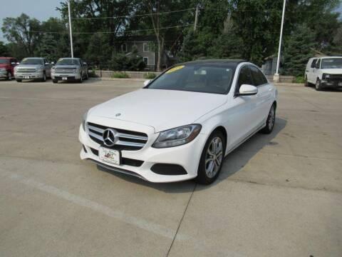 2015 Mercedes-Benz C-Class for sale at Aztec Motors in Des Moines IA