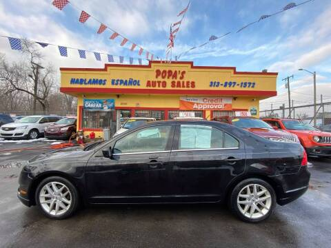 2012 Ford Fusion for sale at Popas Auto Sales in Detroit MI