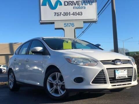 2014 Ford Focus for sale at Driveway Motors in Virginia Beach VA