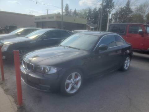 2010 BMW 1 Series for sale at J & J Used Cars inc in Wayne MI