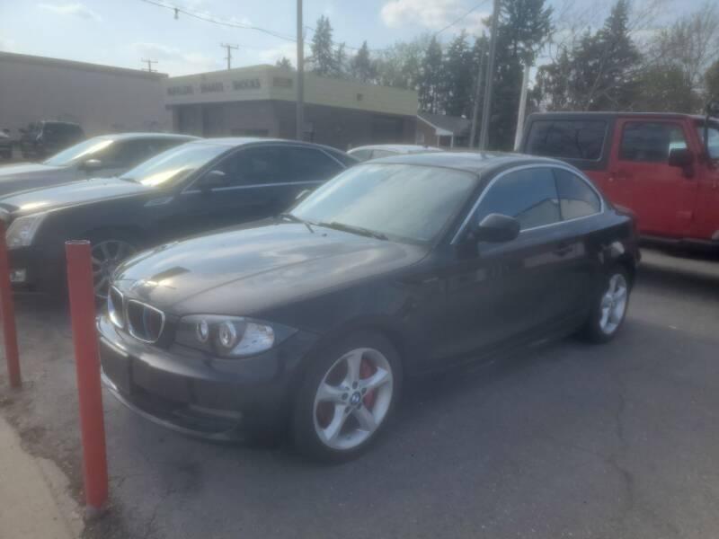 2010 BMW 1 Series for sale at J & J Used Cars inc in Wayne MI
