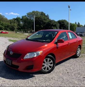 2009 Toyota Corolla for sale at GET N GO USED AUTO & REPAIR LLC in Martinsburg WV