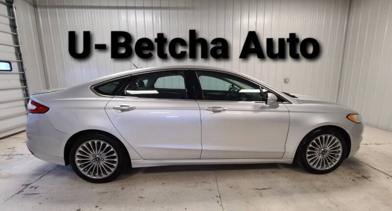 2013 Ford Fusion for sale at Ubetcha Auto in St. Paul NE