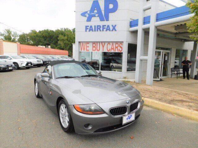 2003 BMW Z4 for sale at AP Fairfax in Fairfax VA