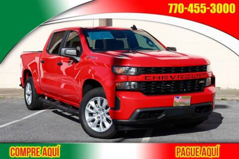 2020 Chevrolet Silverado 1500 for sale at El Compadre Trucks in Doraville GA