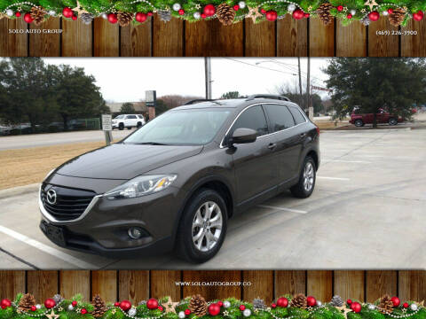 2015 Mazda CX-9 for sale at Solo Auto Group in Mckinney TX