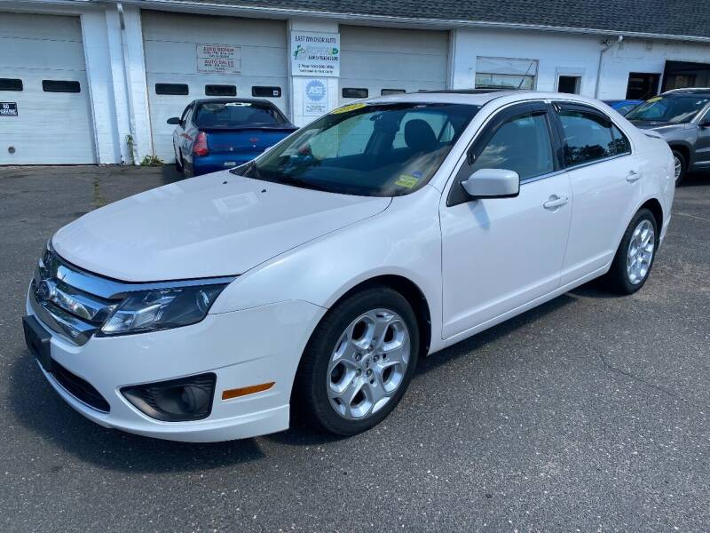 2010 Ford Fusion for sale at East Windsor Auto in East Windsor CT