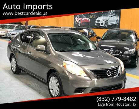 2014 Nissan Versa for sale at Auto Imports in Houston TX