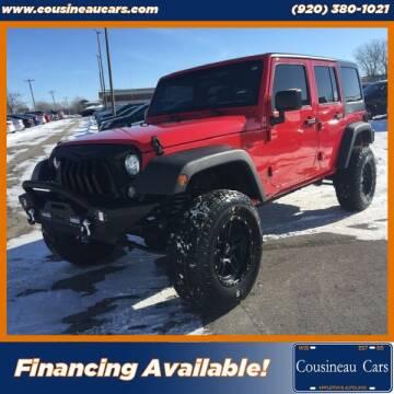 2018 Jeep Wrangler JK Unlimited for sale at CousineauCars.com in Appleton WI